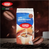 酷欧培COOP 经典研磨咖啡粉 250g 袋装 意大利进口