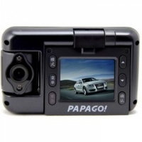 PAPAGO GOsafe100 隐形机折叠式 行车记录仪(黑色)