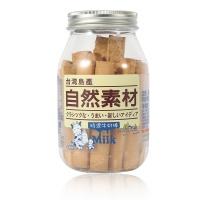 中国台湾进口 自然素材特浓牛奶棒饼干 180g
