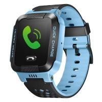 小天才 电话手表Y03 快充版 星际黑 儿童智能手表360度安全防护防水 学生定位通话手机