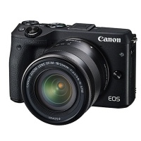 佳能(Canon)EOS M3 微单单镜套机 黑色(EF-M 18-55mm f/3.5-5.6 IS STM)