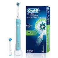 博朗(BRAUN)欧乐B D16.523U 600 3D智能电动牙刷天际蓝
