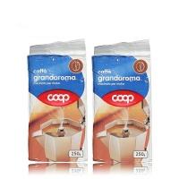 酷欧培COOP 浓香研磨咖啡粉 250g 袋装意大利进口