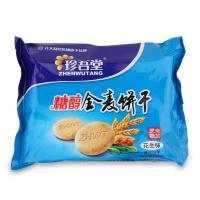 珍吾堂 糖醇全麦饼干 花生味(未加蔗糖)360g