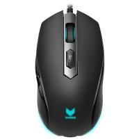 雷柏(Rapoo)V210 黑色 炫光有线游戏鼠标