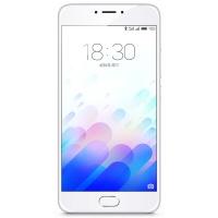 魅族(MEIZU)魅蓝note3 4G手机 双卡双待 银色 全网通(3G RAM+32G ROM)标配