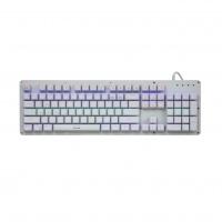 尼莫索(nimxo)K002流光版 白色 104键USB游戏机械键盘 青轴(K002-02)