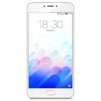 魅族(MEIZU)魅蓝note3 4G手机 双卡双待 金色 全网通(3G RAM+32G ROM)标配