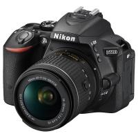 尼康(Nikon)D5500 单反套机(AF-P DX 18-55mm f/3.5-5.6G VR)黑色
