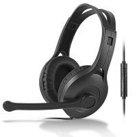 漫步者(EDIFIER)K800 高品质电脑耳麦 黑色单孔板