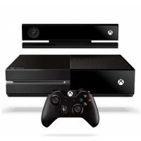 微软(Microsoft)Xbox One + KINECT 家庭娱乐游戏机套装(1手柄+3游戏)