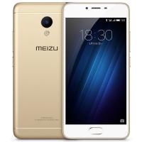 魅族(MEIZU)魅蓝3S 全网通公开版 16GB 金色 移动联通电信4G手机 双卡双待