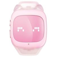 糖猫(teemo)T2 儿童智能电话手表 GPS定位 布丁粉