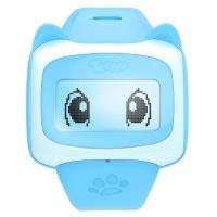 糖猫(teemo)E1 儿童电话手表 好友版儿童智能手表 GPS定位 天空蓝
