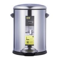 EKO 贝拉5L静音环境桶9217MT-5L 银色 5L 不锈钢(1Cr17)/塑料内桶(PE)