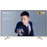 微鲸(WHALEY)43英寸 WTV43K1J 4K超清智能超薄LED液晶平板电视