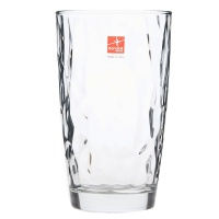 Bormioli 钻石高身水杯 白 玻璃 470ml