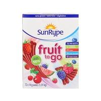 桑莱普(SunRype)水果条72条装 72x14g 加拿大进口