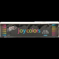 清风/Breeze  乐逸joy colors 4层8张加香迷你型手帕纸 12包 家庭装便携式面巾纸餐巾纸