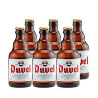 督威 DUVEL 黄金艾尔小麦精酿啤酒瓶装 330ml*6 比利时原装进口
