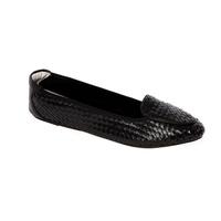 Cocorose 卡兰芬系列黑色折叠鞋 CR0394-36