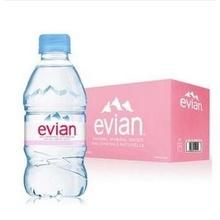 依云 Evian 天然矿泉水330ml*24瓶/箱 法国进口