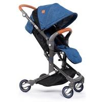 法国Babysing 宝宝推车 儿童轻便折叠1-3岁可坐躺婴儿车 迷你可登机 I-GO 牛仔蓝