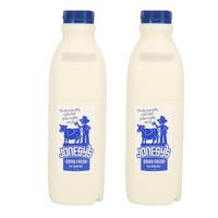乔西牧场 Jonesy's全脂纯牛奶 巴氏杀菌乳 1L*2 澳大利亚进口