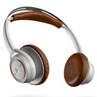 缤特力 BackBeat SENSE 立体声蓝牙耳机 音乐耳机 通用型 头戴式 白棕褐色