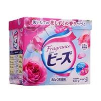 花王KAO洗衣粉 玫瑰花香 850克 日本进口 强效去污 防止褪色