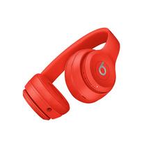 【官方授权】Beats Solo3 Wireless 头戴式 蓝牙无线耳机 手机耳机 游戏耳机 - 红色 MP162PA/A