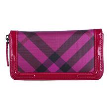 Burberry 皮夹 紫色 20*10*2.5cm