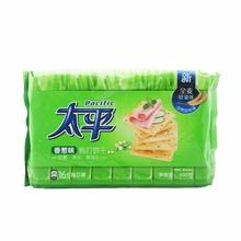 太平 梳打香葱口味发酵饼干 400g/袋