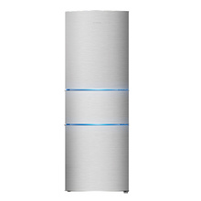 容声(Ronshen)BCD-218D11N 218升 三门冰箱(拉丝银)