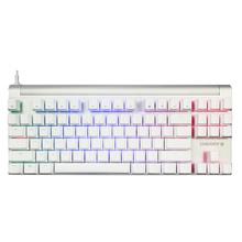 樱桃(Cherry)MX Board 8.0 RGB 白色 红轴 有线机械游戏键盘