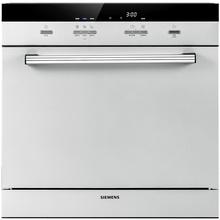 【厨卫优选】西门子(SIEMENS)SC73M810TI 西班牙原装进口 8套 两层碗篮 热交换烘干 紧凑型嵌入式全自动洗碗机