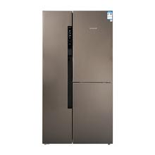 博世(BOSH)KAF96A46TI 569升 变频混冷无霜零度三门对开冰箱 支持旋转制冰