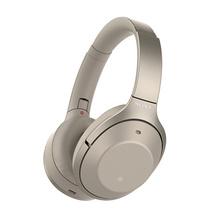 索尼(SONY) WH-1000XM2 头戴式降噪立体声无线蓝牙耳机 香槟金