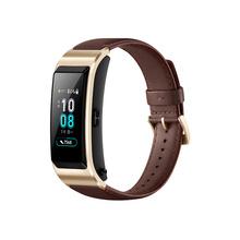 华为 手环 B5 (蓝牙耳机+智能手环+心率监测+彩屏+触控+压力监测+Android+IOS通用+运动手环) 商务版 摩卡棕