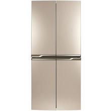 TCL BCD-398KPZ50 398升 冰箱 变频十字对开门多门电冰箱 电脑控温(流光金)