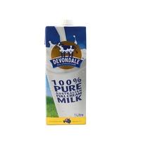 德运(Devondale)纯牛奶 全脂牛奶 1L 澳大利亚进口