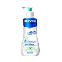 妙思乐(Mustela)贝贝洗发沐浴露 婴儿洗浴二合一 宝宝洗发水沐浴乳 500ml 法国进口