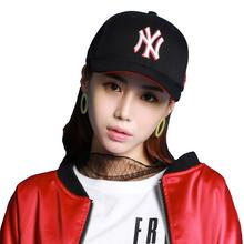 MLB 棒球帽男女款遮阳透气 黑红白拼色刺绣纽约洋基队棒球帽 32CP85711-50R 黑色 均码可调节 F