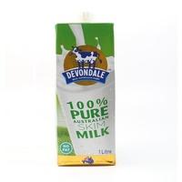 德运(Devondale)脱脂牛奶 纯牛奶 1L 澳大利亚进口