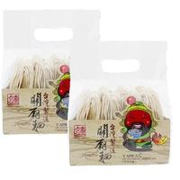 食庄 关庙面(手工面)2袋装 台湾地区进口 500gx2