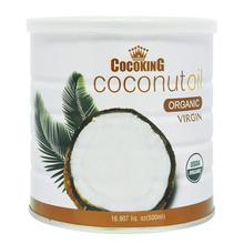 菲律宾 椰冠 冷压榨有机椰子油(罐) 500ml 食用油 烘焙 椰子油 烹饪油