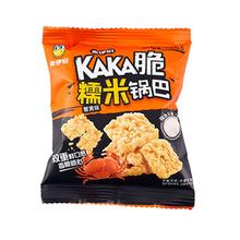 来伊份 糯米锅巴(蟹黄味) 150g  休闲零食 膨化 办公室零食