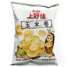 上好佳 玉米卷特优惠装 80g 膨化食品 无反式脂肪酸