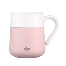 kims cook KC UKA Cafe 保温马克杯 粉色 UKC12-F