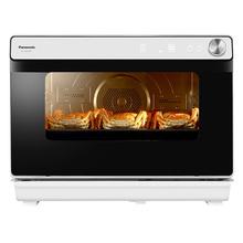 【西式小电优选】松下(Panasonic)NU-JK200W 家用台式二合一蒸汽烤箱一体 30L